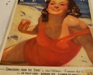 2326 Main Building Hall upstairs closet Antique Magazine 1934 profile