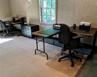 desks and office furniture