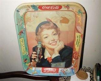 Old Coca Cola Tray