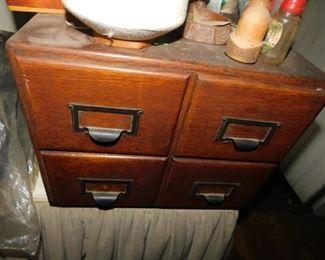 Oak File Box
