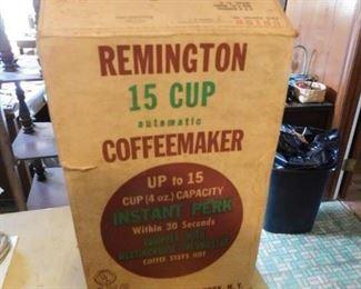 Vintage Remington Coffeemaker in Box