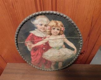 """Small Victorian """"Sisters"""" Print"""