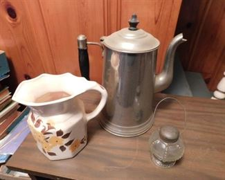 Cash Family Pitcher, Candy Container, Coffee Pot