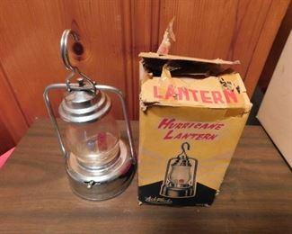 Electric Hurricane Lamp in Original Box