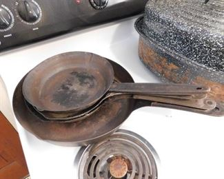 Old Frying Pans