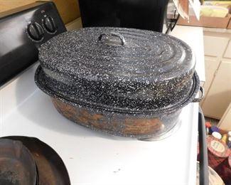 Enamelware Oven Roaster