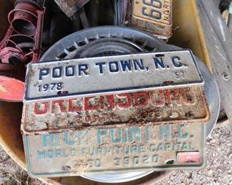 Poor Town N.C. City Tag