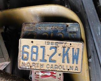 North Carolina License Plates