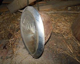 Old Automotive Headlights