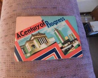 Worlds Fair Souvenir Needle Booklet