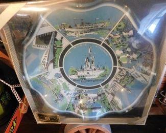 Vintage Walt Disney World Souvenir Ashtray in Original Box
