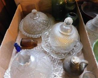 Old Butter Dishes