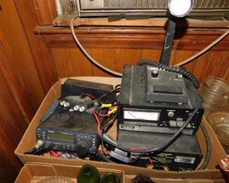 Several CB/Ham Radios and Accessories