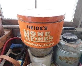 Heide's None Finer Marshmallows Tin