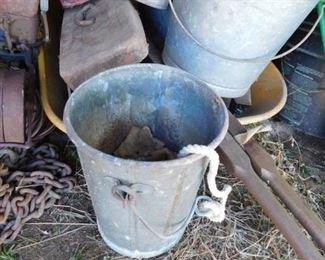 Old Well Bucket