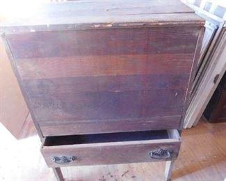 Unusual Old Storage Cabinet