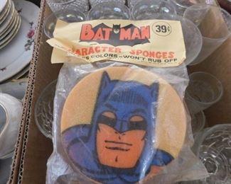 Old Batman Sponge in Original Package