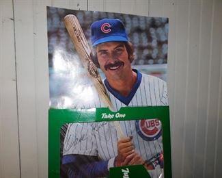 Dave Kingman Cubs Premium Posters(7-Up)