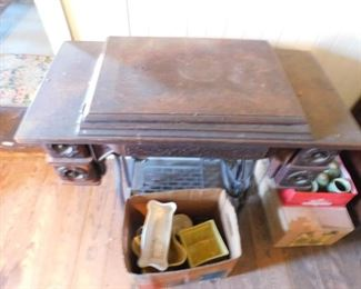 Singer Pedal Sewing Machine