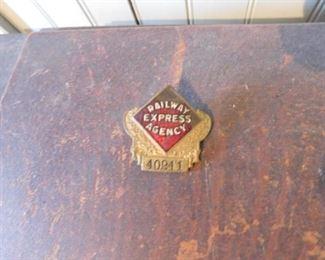 Railway Express Agency Hat Badge