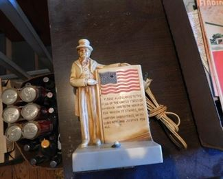 Old Uncle Sam Lamp