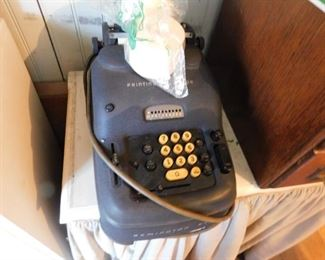 Old Adding Machine