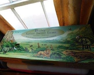 Diasy Safari Target Game in Original Box