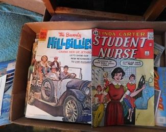 Some Old Comic Books