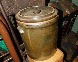 Old Pottery Storage Crock