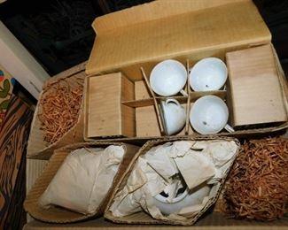 Bone China Tea Set in Original Box