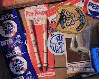 Cincinatti Reds Pen and Pencil Set