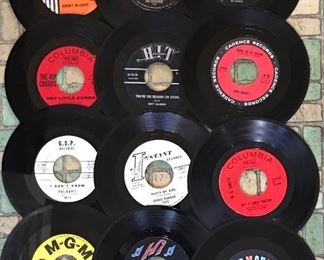 Assorted 45 Records