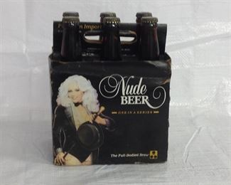 6 Pack unopened Nude beer