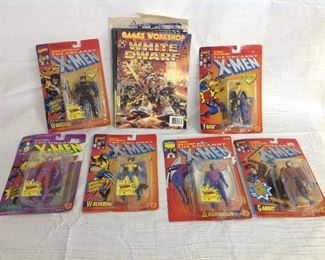 X-men action figures