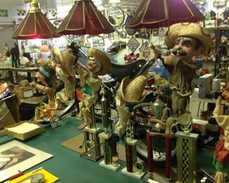 Old marionettes