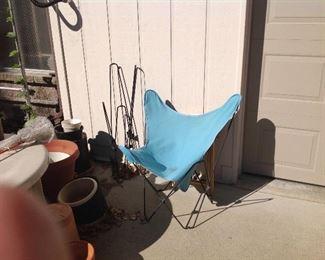 Retro lawn chairs