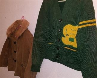 Vintage Lettermans jacket. Sweet Home.