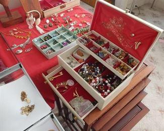 Abundance of Costume Jewelry