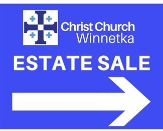 Another fabulous estate sale conducted by Christ Church rummage!!