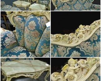 Italian hand carved furniture
