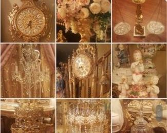 Victorian lamps and more