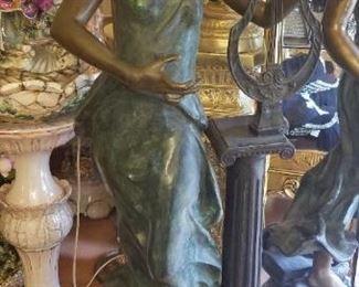 Bronze Statue 1889