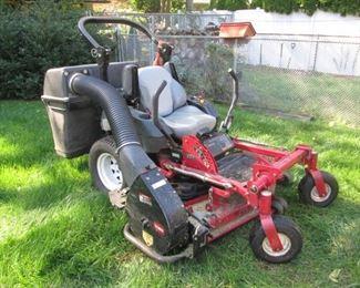 Toro Zero Turn Lawn Mower with power Vac. Mod. 74416