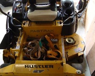 """54"""" Hustler Zero Turn Mower, Model #933432,  Runs!!"""