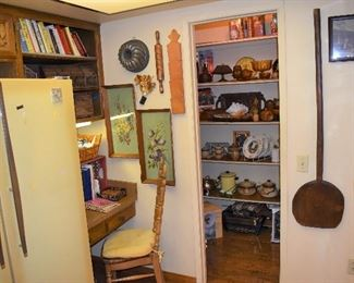 Kitchen Overview/Pantry