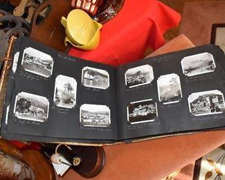 1920's Travel Photo Book