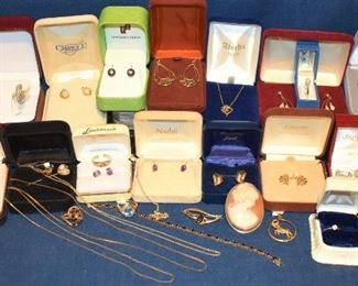 SOME of the Gold Jewelry
