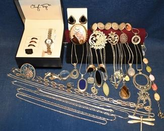 SOME of the Silver Jewelry