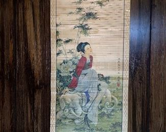 CHINESE PAINTING SCROLL