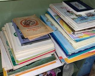 VINTAGE UKRAINIAN BOOKS